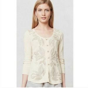 Knitted & Knotted Anthropologie Ardennes Cardigan